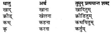RBSE Class 7 Sanskrit व्याकरण विशेषण प्रकरणम् 12