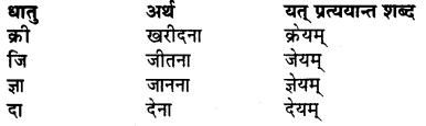 RBSE Class 7 Sanskrit व्याकरण विशेषण प्रकरणम् 8