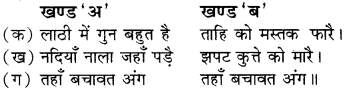 RBSE Solution for Class 8 Hindi Chapter 12 कुण्डलियाँ छंद img-1
