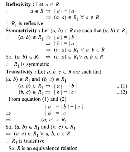 RBSE Solutions for Class 11 Maths Chapter 2 Relations and Functions Miscellaneous Exercise 11