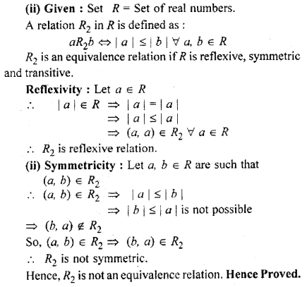 RBSE Solutions for Class 11 Maths Chapter 2 Relations and Functions Miscellaneous Exercise 12