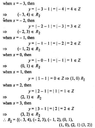 RBSE Solutions for Class 11 Maths Chapter 2 Relations and Functions Miscellaneous Exercise 8