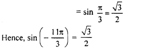 RBSE Solutions for Class 11 Maths Chapter 3 Trigonometric Functions Ex 3.2
