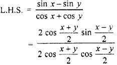 RBSE Solutions for Class 11 Maths Chapter 3 Trigonometric FunctionsEx 3.3
