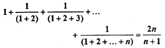 RBSE Solutions for Class 11 Maths Chapter 4 Principle of Mathematical Induction Ex 4.1 20