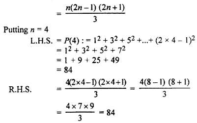 RBSE Solutions for Class 11 Maths Chapter 4 Principle of Mathematical Induction Ex 4.1 3