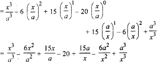 RBSE Solutions for Class 11 Maths Chapter 7 Binomial TheoremEx 7.1