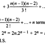 RBSE Solutions for Class 11 Maths Chapter 7 Binomial TheoremEx 7.3