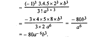 RBSE Solutions for Class 11 Maths Chapter 7 Binomial TheoremEx 7.4