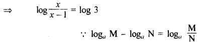 RBSE Solutions for Class 11 Maths Chapter 9 लघुगणक Miscellaneous Exercise