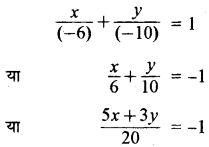 RBSE Solutions for Class 11 Maths Chapter Chapter 11 सरल रेखा Ex 11.1