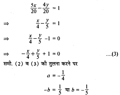 RBSE Solutions for Class 11 Maths Chapter Chapter 11 सरल रेखा Ex 11.2