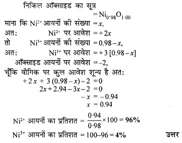 RBSE Solutions for Class 12 Chemistry Chapter 1 ठोस अवस्था image 10