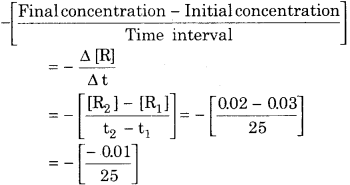 RBSE Solutions for Class 12 Chemistry Chapter 4 Chemical Kinetics image 1