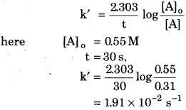 RBSE Solutions for Class 12 Chemistry Chapter 4 Chemical Kinetics image 9