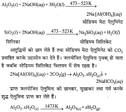 RBSE Solutions for Class 12 Chemistry Chapter 6 तत्वों के निष्कर्षण के सिद्धान्त एवं प्रक्रम image 2