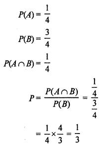 RBSE Solutions for Class 12 Maths Chapter 16 प्रायिकता एांव प्रायिकता बंटन Miscellaneous Exercise