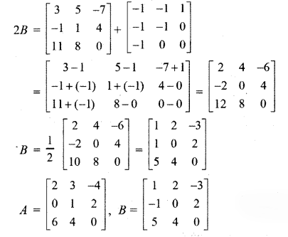 RBSE Solutions for Class 12 Maths Chapter 3 Additional Questions 14