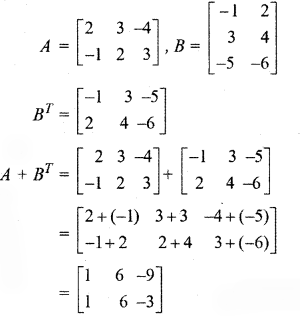 RBSE Solutions for Class 12 Maths Chapter 3 Additional Questions 21