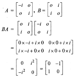 RBSE Solutions for Class 12 Maths Chapter 3 Additional Questions 9