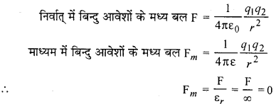 RBSE Solutions for Class 12 Physics Chapter 1 विद्युत क्षेत्र 13