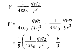 RBSE Solutions for Class 12 Physics Chapter 1 विद्युत क्षेत्र 2