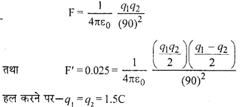 RBSE Solutions for Class 12 Physics Chapter 1 विद्युत क्षेत्र 5
