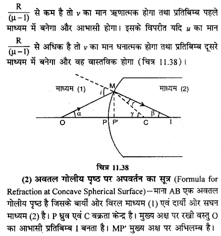 RBSE Solutions for Class 12 Physics Chapter 11 किरण प्रकाशिकी long Q 4.3