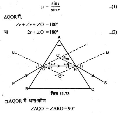 RBSE Solutions for Class 12 Physics Chapter 11 किरण प्रकाशिकी long Q 6.4