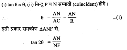 RBSE Solutions for Class 12 Physics Chapter 11 किरण प्रकाशिकी short Q 3.1