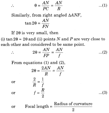 RBSE Solutions for Class 12 Physics Chapter 11 Ray Optics 10