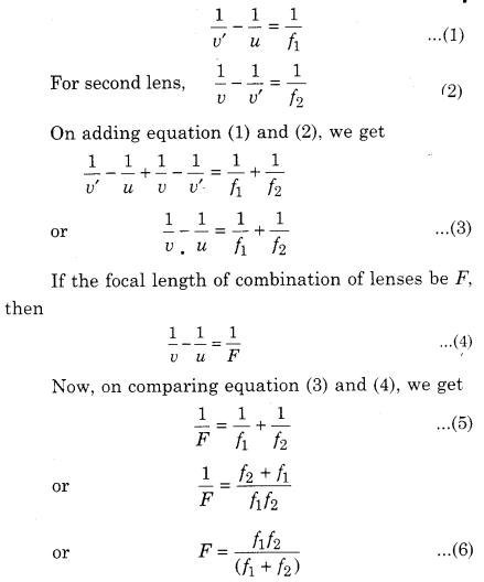 RBSE Solutions for Class 12 Physics Chapter 11 Ray Optics 13
