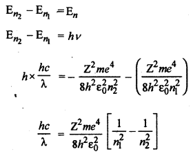 RBSE Solutions for Class 12 Physics Chapter 14 परमाणवीय भौतिकी lon Q 4