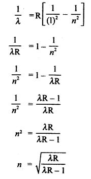 RBSE Solutions for Class 12 Physics Chapter 14 परमाणवीय भौतिकी mul Q 9.1