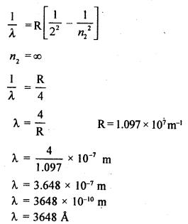 RBSE Solutions for Class 12 Physics Chapter 14 परमाणवीय भौतिकी vesh Q 9