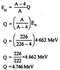 RBSE Solutions for Class 12 Physics Chapter 15 नाभिकीय भौतिकी nu Q 10.1