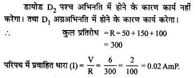 RBSE Solutions for Class 12 Physics Chapter 16 इलेक्ट्रॉनिकी nu Q 2.1
