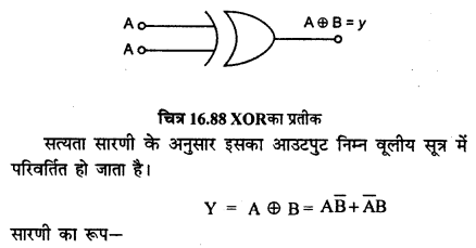 RBSE Solutions for Class 12 Physics Chapter 16 इलेक्ट्रॉनिकी sh Q 4.3