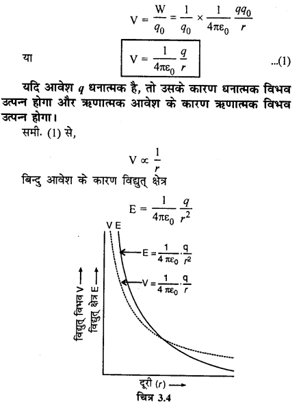 RBSE Solutions for Class 12 Physics Chapter 3 विद्युत विभव 22