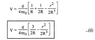 RBSE Solutions for Class 12 Physics Chapter 3 विद्युत विभव 50
