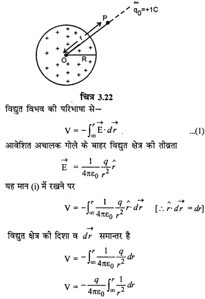 RBSE Solutions for Class 12 Physics Chapter 3 विद्युत विभव 64