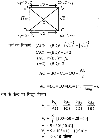 RBSE Solutions for Class 12 Physics Chapter 3 विद्युत विभव 70