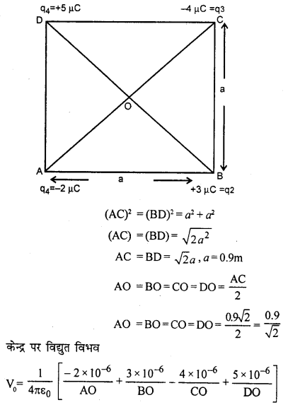 RBSE Solutions for Class 12 Physics Chapter 3 विद्युत विभव 74