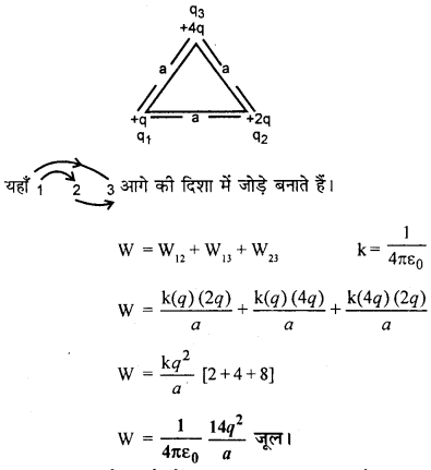 RBSE Solutions for Class 12 Physics Chapter 3 विद्युत विभव 86