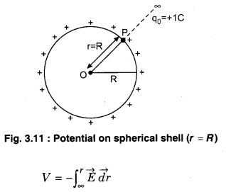 Physics Class 12 Chapter 3 RBSE Electric Potential