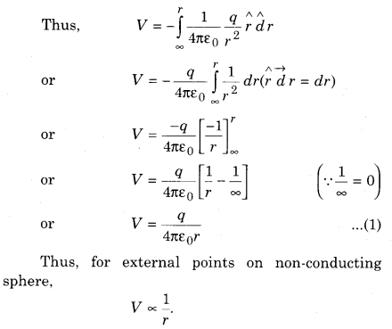 RBSE Solutions for Class 12 Physics Chapter 3 Electric Potential 48