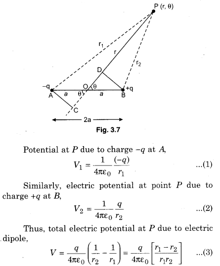 RBSE Solutions for Class 12 Physics Chapter 3 Electric Potential 56