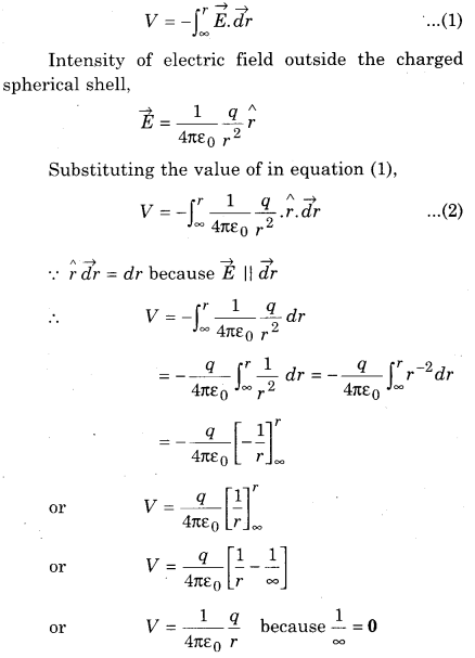 RBSE Solutions for Class 12 Physics Chapter 3 Electric Potential 59