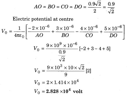 RBSE Solutions for Class 12 Physics Chapter 3 Electric Potential 68