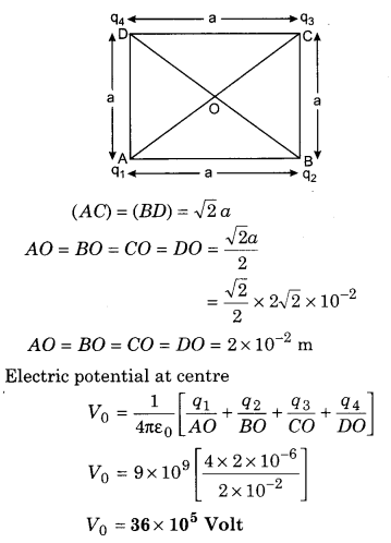 RBSE Solutions for Class 12 Physics Chapter 3 Electric Potential 71